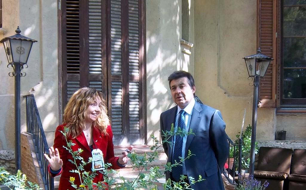 Alcalde de Montmeló en Can Manich y Begoña