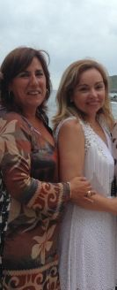 Cristina Reparaz y Begoña