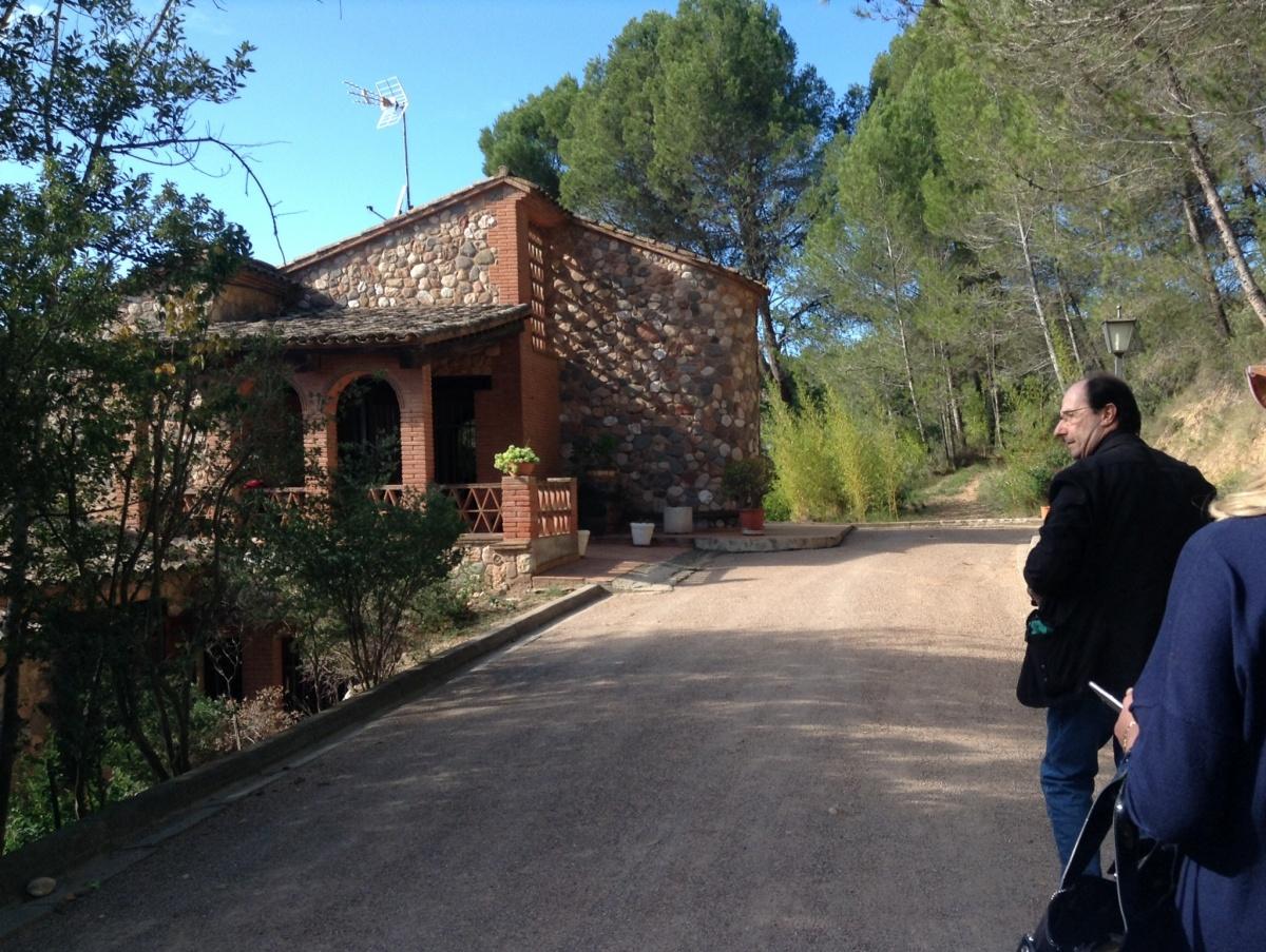 entrada masia