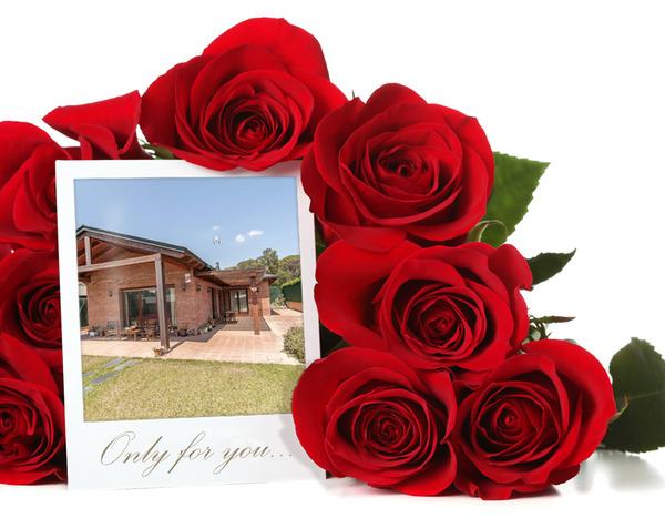ramo rosas fachada vendido costa brava