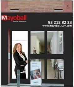 entrada despacho inmobiliaria MAYOBALL
